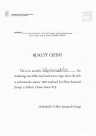 Olive Research Group Quality Credit